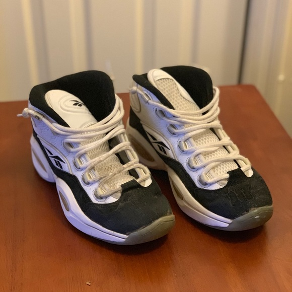 b4bc07d2fdcaab Reebok Shoes | Allen Iverson The Question Sneakers | Poshmark